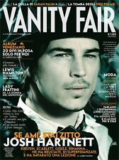 VANITY FAIR=N°37 2008=JOSH HARTNETT=LEWIS HAMILTON=NICOLA SAVINO=ROLAND PETIT