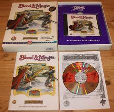 Advanced Dungeons & Dragons: Blood & Magic (PC, 1997, Big-Box)