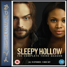 SLEEPY HOLLOW  - COMPLETE SEASON 3 *BRAND NEW DVD**