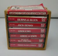 The Best Of Old Time Radio Greatest Comedies 6 Cassette Tapes Vintage Audio