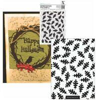 Oak Leaf Embossing Folder Xcut Craft Folders Autumn,Fall,Leaves