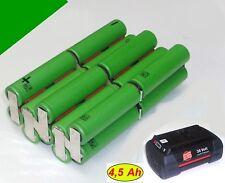Tauschpack für Original Bosch / BTI  Akku 36 V 2,6 Li  Rotak  GBH  AKS   4,5 Ah