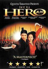 Hero ~ Jet Li Tony Leung Ka Fai ~ DVD WS dts with Slipcover ~ FREE Shipping USA
