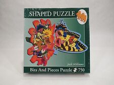 Butterfly Landing - Jack Williams - 750 Jigsaw Shaped Puzzle Bits & Pieces - NEW