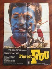 Pierrot le fou / Belmondo / Affiche / Cinéma / Photos / Poster / 60x80 /original
