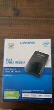 Linksys DOCSIS 3.0 Cable Modem 8 X 4 CM3008 Brand New