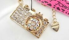 Betsey Johnson $4.99 camera pendant Necklace & Free Gift USA Fast shipping