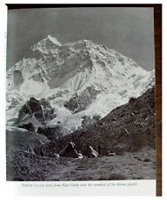 1955 Himalaya - MAKALU EXPEDITION - EVANS and HILLARY - Many Peaks Climbed - 06
