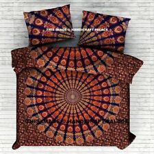 Mandala Queen/King Cotton Bed Quilt/Doona/Duvet Cover Set New Bohemian Set183