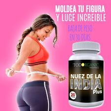 100% Natural  NUEZ DE LA INDIA Plus Ahora con Chia y Quinoa- Baja de Peso YA!
