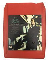 Vintage 1968 TOM JONES Fever Zone 8 Track Cartridge Tape Parrot Records - TESTED