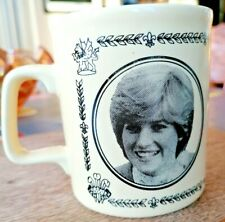 Vintage Mug To Commemorate The Marriage of Prince Charles & Lady Diana 1981.
