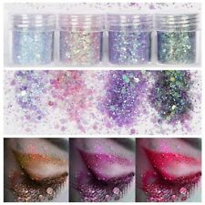 Mermaid Holographic Glitter Chunky Powder Face Eye Shadow Body Makeup Nail Art.
