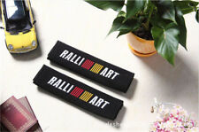 1 Pair Embroidery Seat Belt Cover Shoulder Pads Covers Cushion For RALLIART