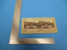 Antique Stereoview Card The Town Of Bethlehem As It Is Today