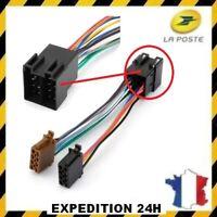 ADAPTATEUR FAISCEAU CABLE ISO AUTORADIO POUR PANASONIC CQ-C1120AN C5300N