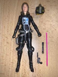 "Jaina Solo 6"" Figure #56 - Star Wars Black Series Legends (2017)"