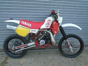 Yamaha YZ 250 Classic MX vinduro 1985