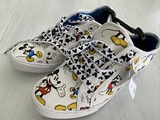 Disney Parks Womens Mickey Mouse Sneakers Size 7 Lace Up Shoes NWT