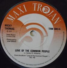 """NICKY THOMAS - Love Of The Common People / Have A Little Faith ~ 7"""" Single"""