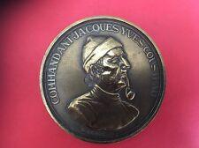 Médaille Commandant JACQUES Yves Cousteau / Monde DES Océans