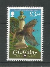 GIBRALTAR 2008 BIRDS OF THE ROCK £3.44 SPOTTED FLYCATCHER SG,1259d U/M LOT 8506A