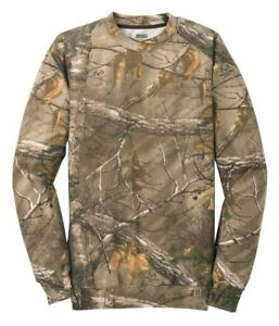 Russell Outdoors Mens S-2XL 3XL Realtree AP Camo Crew Neck Sweatshirt REAL TREE