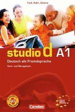 STUDIO D (A1) (LIBRO).(CURSO ALEMAN). ENVÍO URGENTE (ESPAÑA)
