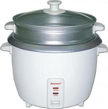Brentwood 8 Cup Rice Cooker With Steamer In White [ts-180s] - 500 W - 1.59 Quart