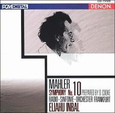 INBAL-MAHLER:SYMPHONY NO. 10 (PREPARED BY D.COOKE)/ORIG DENON PCM DIGITAL-JAPAN