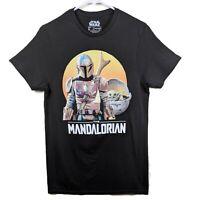 Star Wars Men's The Mandalorian Baby Yoda Graphic T-Shirt - Size Small - NWT!