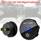 Led Digital Voltmeter Car Auto Direct Wtouch Switch Gauge Volt Meter Instrument
