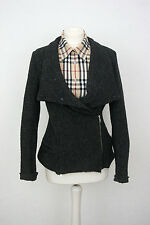 Isabel Marant Wool Silk Tweed Sweater Jumper Cardigan Size XS / S Made in Poland