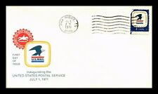DR JIM STAMPS US OAK RIDGE TENNESSEE 7171 POSTAL SERVICE UNSEALED FDC COVER