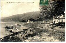 (S-58123) FRANCE - 42 - ST PIERRE DE BOEUF CPA BAC