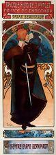 Repro Art Nouveau ' Hamlet' by Alphonse Mucha