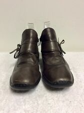 RIEKER BROWN LEATHER BOOTIES SIZE 6/39
