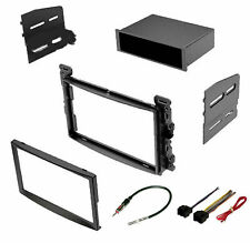 CAR STEREO INSTALLATION INSTALL DASH TRIM KIT W/ WIRING HARNESS & ANTENNA