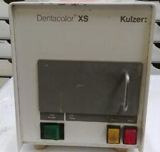 Used Dental Kulzer Dentacolor SX w/ Power cord.