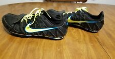 Nike Zoom Rival S 6 Running Sprint Track Shoes Mens Size 10.5 Field Spike Black