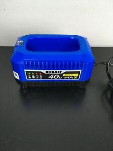 Kobalt 40V MAX LI-ION BATTERY CHARGER Model KRC 40-06 LITHIUM 40-Volt