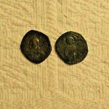 Lot 2# Byzantine Bronze-Christ The Redeemer,Theodoraiii 1055-1056!