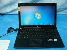 HP Laptop ProBook 5310m Intel Core 2 Duo White LED Thin Computer Soft Touch Coat