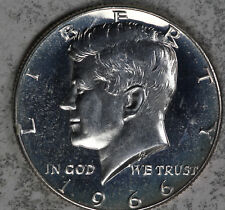 1966 SMS Doubled Die FS-103 Kennedy Silver Half Dollar - Nice Strong Doubling