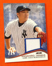 2014 Topps Mini Online Exclusive Relic Game Jersey - MASAHIRO TANAKA Yankees RC