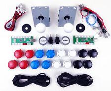 Kit Arcade PRO 2 Postazioni Joystick 16 Pulsanti + Start Select e Controller USB