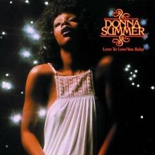 DONNA SUMMER LOVE TO LOVE YOU BABY CD DISCO JAZZ POP NEW