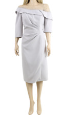 John Charles 26695 Grey Mother of the Bride Wedding Midi Evening Dress UK 16 44