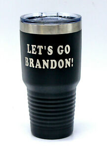 LET'S GO BRANDON! Insulated Stainless mug Cup Glass