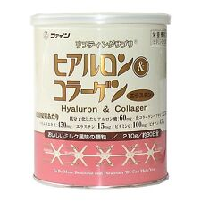 FINE Hyaluron & Collagen 210g, Can Skincare Supplements NEW #4745
